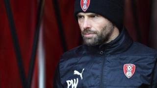 Paul Warne, kociyan Rotherham United
