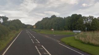 A696 near Kirkwhelpington