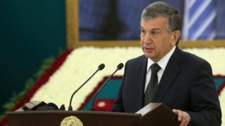 Ўзбекистон муваққат президенти Шавкат Мирзиёев