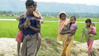 মিয়ানমার থেকে এখনও পালাচ্ছে রোহিঙ্গারা