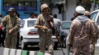 Полиция Ирана