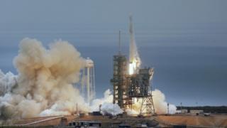 SpaceX запустила Falcon-9 із платформи Космічного центру імені Джона Кеннеді у Флориді