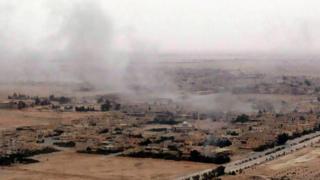 Ingabo za leta zinjira muri Palmyra
