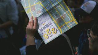 一名學生參加了2016年舉辦的,228事發相關地點的導覽團。