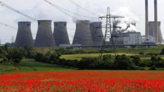 Ferrybridge Power Station 2009