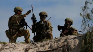 عناصر من الجيش الاسترالي
