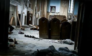 中毒者たちのたまり場となったウェストモアランド通りの教会