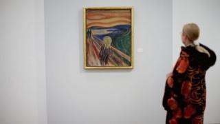 ภาพ The Scream โดยเอ็ดวาร์ด มุนช์ ศิลปินชาวนอร์เวย์ เป็นผลงานที่โด่งดังที่สุดของโลกภาพหนึ่ง