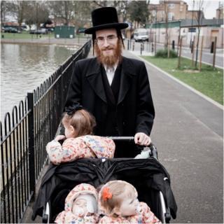 Abraham, with his children