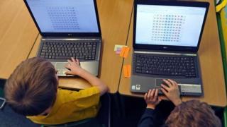 Computers in school