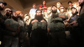 бойцы Нусры в Алеппо
