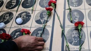 Armenian commemoration in Istanbul, 24 Apr 16