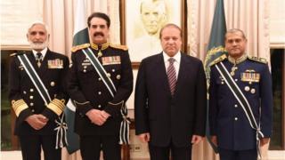 وزیراعظم اور مسلح افواج کے سربراہان