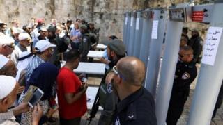 د اسرائیلو په دې کار سره القدس کې پراخ لاریونونه وشول.