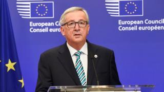 European Commission President Jean-Claude Juncker - file pic