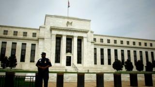 US Federal Reserve building in Washington DC