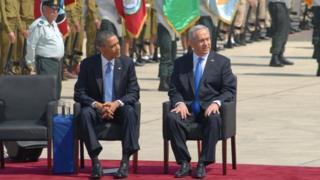 Обама и Нетаньяху