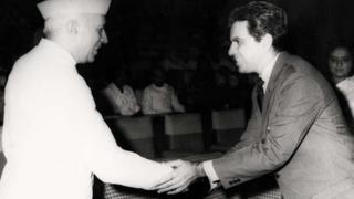 दिलीप कुमार और प्रधानमंत्री जवाहरलाल नेहरू