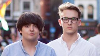 Comedy duo Dean Dobbs and Jack Howard