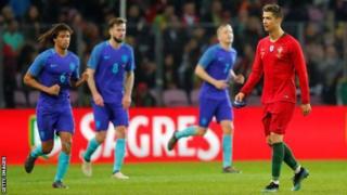 Ronaldo oon gool dhalinin