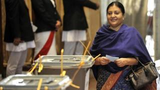Nepalese President Bidhya Devi Bhandari