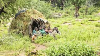 Народ хадза в Танзании