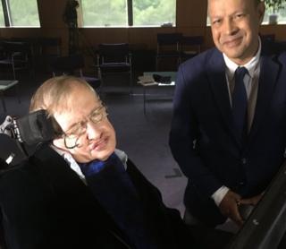 Stephen Hawking and Pallab Ghosh