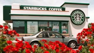 Starbucks arabaya servis