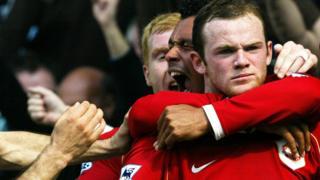 Rooney, Manchester United, Everton