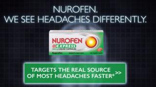 Nurofen Express advert
