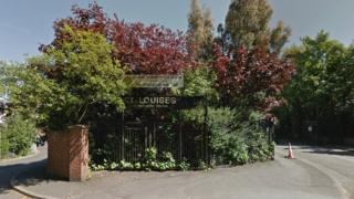 Entrance to St Louise's Comprehensive College
