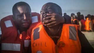 rescued children