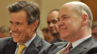 Sir John Sawers (left) and Lord Evans