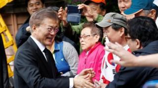 Rais mpya wa Korea Kaskazini Moon Jae-in ameapishwa rasmi
