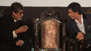 अमिताभ और शाहरुख