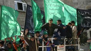 خاضت حماس صراعا طويلا مع إسرائيل
