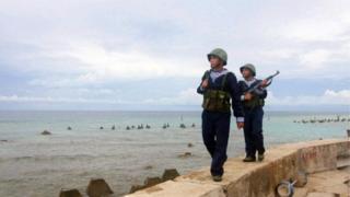 เวียดนามส่งทหารไปประจำการที่เกาะแห่งหนึ่งในน่านน้ำพิพาททะเลจีนใต้