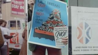 1975 campaign posters