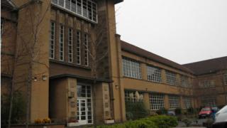 Notre Dame High School in Glasgow