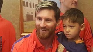 Lionel Messi, Murtaza Ahmad