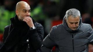 Pep Guardiola da Jose Mourinho