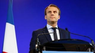 Macron yatanguje umuhari wiwe mu kwezi kwa kane