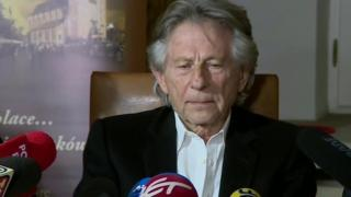 Roman Polanski at a press conference 30 oct 2015