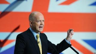 William Hague speaking in 2015