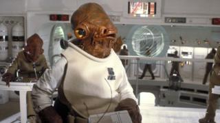 Erik Bauersfeld played Admiral Ackbar in Return of the Jedi