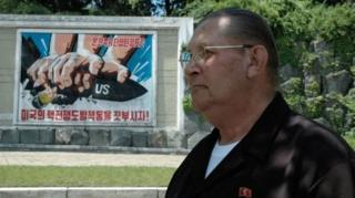 นายเจมส์ เดรสน็อก แปรพักตร์โดยข้ามเขตปลอดทหาร (DMZ) ซึ่งเต็มไปด้วยกับระเบิดไปยังฝั่งเกาหลีเหนือ