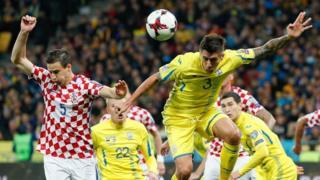 Матч Украина -Хорватия