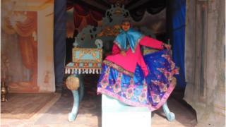 Vandana Vijay dressed up as a princess
