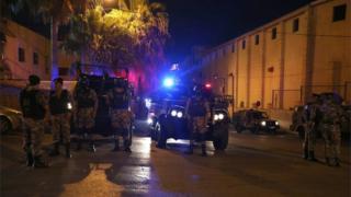 اطراف سفارت اسرائیل در امان