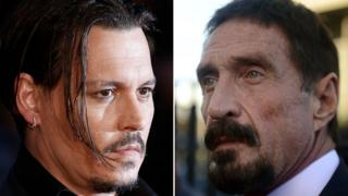 Johnny Depp ve John McAfee